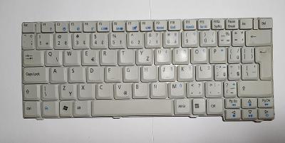 FUNKČNÍ KLÁVESNICE / NSK-A9V0C / z notebooku Acer Aspire MS2229
