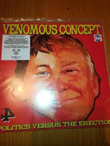 Prodám LP Venomous Concept - Politics Versus The Erection
