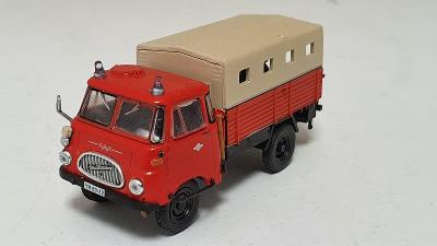 Robur LO 1800 A - Hasičské vozidlo 1:72