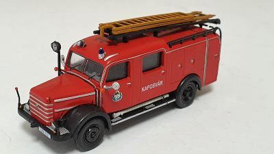 Csepel D 350 - Hasičské vozidlo 1:72