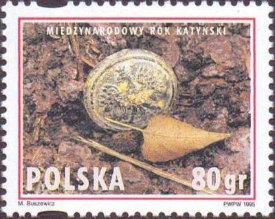 Polsko 1995 Známky Mi 3532 ** Katyňský masakr Druhá světová válka