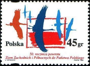 Polsko 1995 Známky Mi 3535 ** Slezsko Druhá světová válka
