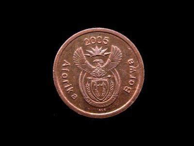 Jihoafrická Republika - 5 Cents 2005 (Aforika Borwa)
