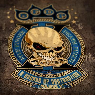 FIVE FINGER DEATH PUNCH   A Decade of Destruction, Vol. 2        CD