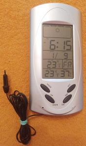 Meteostanice s venkovním čidlem teploty!!!