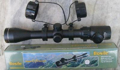 Puškohled Bosile 6 - 12 x 44 s podsvícením a montáží