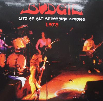 2 LP BUDGIE Live At AnM Recording Studios 1978 Raritní !