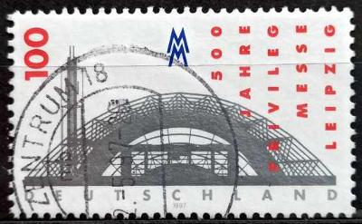 DEUTSCHLAND: MiNr.1905 Leipzig Fair 100pf, 500th Anniversary 1997