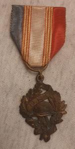 Medaile veteránů 1. sv. války 1914-1918, Francie, legie