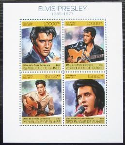 Guinea 2014 Elvis Presley Mi# 10232-35 Kat 20€ 2253