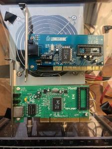 Síťová karta TP link KB-6160 nebo Longshine LCS-8038TXR5