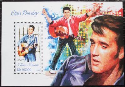 Svatý Tomáš 2013 Elvis Presley Mi# Block 909 Kat 10€ 2254