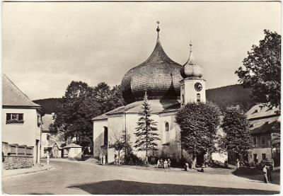 Železná Ruda kostel Klatovy