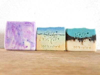 Ručně vyráběná přírodní mýdla