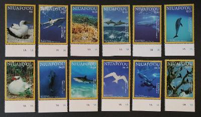 Niuafo'ou 2016 Mi.615-6 60€ Definitiva ostrovní ptáci a ryby, fauna