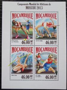 Mosambik 2013 MS v lehké atletice Mi# 7077-80 Kat 11€ 2257