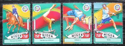 Niger 2016 LOH Rio de Janeiro Mi# 4337-40 Kat 12€ 2257