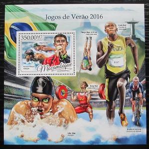 Mosambik 2016 LOH Rio de Janeiro Mi# Block 1213 Kat 20€ 2257