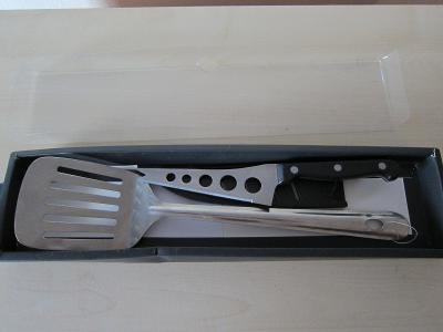 Sada nůž +obracečka Fiskars Norr 180820 Finland/Sada na grilování sýru