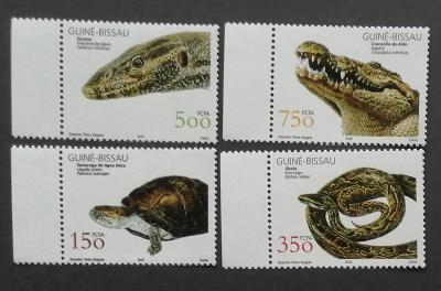 Guinea-Bissau 2002 Mi.2029-2 11€ Plazi Afriky, krokodýli, hadi, želvi