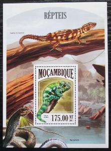 Mosambik 2011 Obojživelníci a plazi Mi# Block 801 Kat 10€ 2259