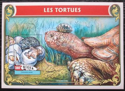 Niger 2016 Želvy Mi# Block 551 Kat 12€ 2259