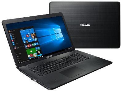 AsusX751NčtyřjádroN4200 až2,5Ghz/8GB RAM/480GB SSD/GeForce920Mx/17palc
