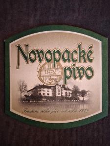Pivní podtácek - Novopacké pivo