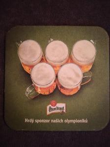 Pivní podtácek - Pilsner Urquell
