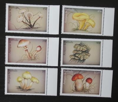 Antigua & Barbuda 1997 Mi.2551-6 5€ Houby Karibiku, mykologie, flora