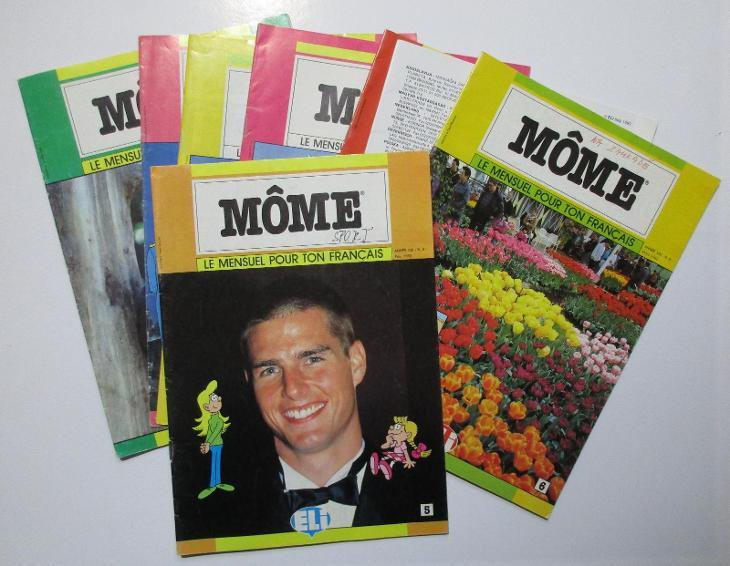 Časopisy s výukou francouzštiny Môme - Učebnice