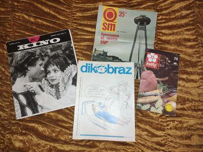 Retro časopisy různé