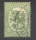 Finsko - - Znak - Stojící Lev