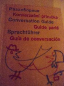 Stručná Konverzační příručka v 6 jazycích Aj, Fr, Šp, Nj, ruština
