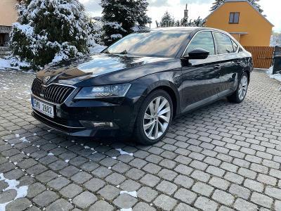 Škoda Superb L&K, 2.0 TSI 162kw, 1. majitel, nezávislé topení, TZ