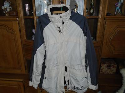 Pánská podzimní bunda Jack Wolfskin béžovo-šedá vel. L-XL