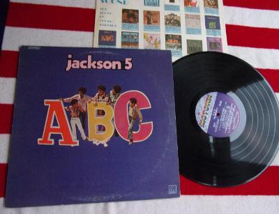 💥 LP: THE JACKSON 5 - ABC, 1press USA 1970 (Michael Jackson)