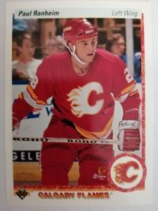 Paul Ranheim #104 Calgary Flames 1990/1991 Upper Deck