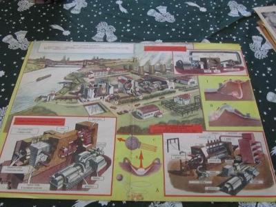 Plakát Prospekt model atom.elektrárny   od-1kč
