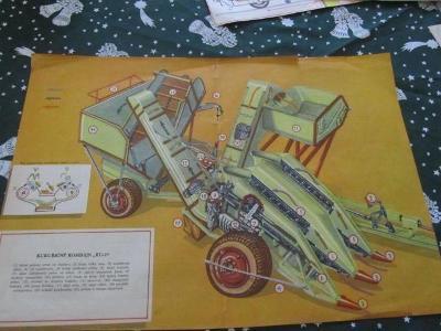 Plakát Prospekt Kukuřičný kombajn KU-20   od-1kč