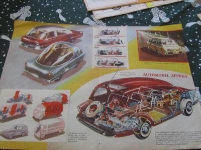 Plakát Prospekt Automobil zitřka   od-1kč