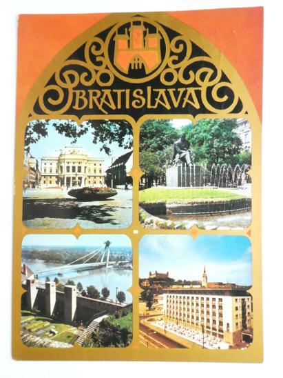 BRATISLAVA  - Pohlednice