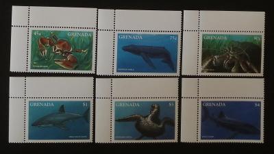 Grenada 1997 Mi.3433-8 15€ Mořská fauna ostrovů, ryby, krabi