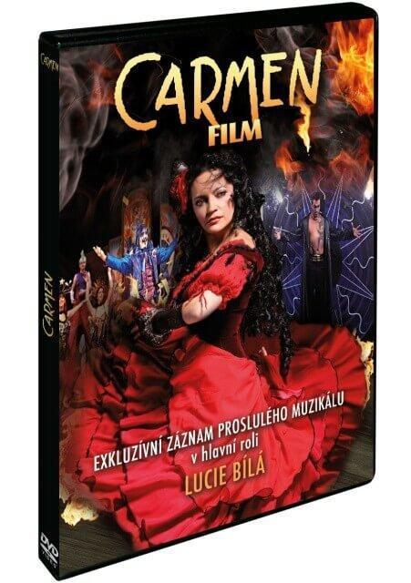 CARMEN (DVD) - MUZIKÁL S LUCIÍ BÍLOU  - Film