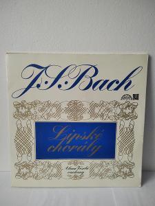 LP Bach Johann S. LIPSKÉ CHORÁLY pro varhany 1972 2LP  stereo