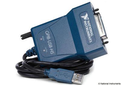 National Instruments GPIB-USB-HS převodník