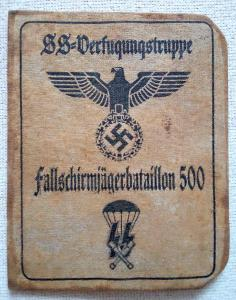DOKLAD - SS - FULLSCHIRMJAGERBATAILLON 500 - III RISE - NEMECKO