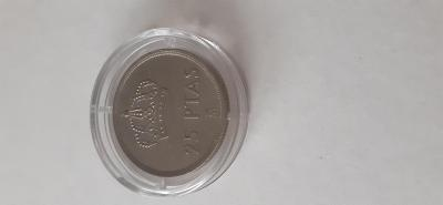 Mince Španělsko 25 PTAS
