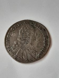 František Lotrinský 17 krejcar 1762 KB