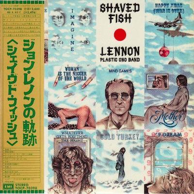 John Lennon - Shaved Fish CD Mini LP + OBI The Beatles